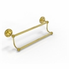 Allied Brass PR-72/24-UNL Prestige Regal Collection 24 Inch Double Towel Bar, Unlacquered Brass
