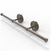 Allied Brass PR-GT-3-ABR Prestige Regal Collection Wall Mounted Horizontal Guest Towel Holder, Antique Brass