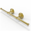 Allied Brass PR-GT-3-PB Prestige Regal Collection Wall Mounted Horizontal Guest Towel Holder, Polished Brass