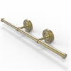 Allied Brass PR-GT-3-SBR Prestige Regal Collection Wall Mounted Horizontal Guest Towel Holder, Satin Brass
