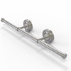 Allied Brass PR-GT-3-SN Prestige Regal Collection Wall Mounted Horizontal Guest Towel Holder, Satin Nickel