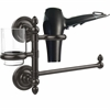 Allied Brass PR-GTBD-1-ORB Prestige Regal Collection Hair Dryer Holder and Organizer, Oil Rubbed Bronze