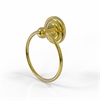 Allied Brass QN-16-UNL Que New Collection Towel Ring, Unlacquered Brass