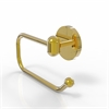 Allied Brass TA-24E-UNL Tango Collection European Style Toilet Tissue Holder, Unlacquered Brass