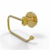 Allied Brass TA-24E-UNL Tango Collection European Style Toilet Tissue Holder, Unlacquered Brass