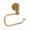 Allied Brass TR-24E-UNL Tribecca Collection European Style Toilet Tissue Holder, Unlacquered Brass