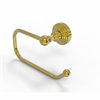 Allied Brass WP-24E-UNL Waverly Place Collection European Style Toilet Tissue Holder, Unlacquered Brass
