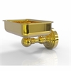 Allied Brass WP-32-UNL Waverly Place Collection Wall Mounted Soap Dish, Unlacquered Brass