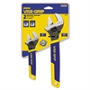 "IRWIN Two-Piece Adjustable Wrench Set, 6"" and 10"" Long"