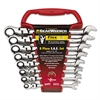 "8-Piece Flex-Head Ratcheting-Box Combination Wrench, 5/16"" to 3/4"", 12-Point Box"