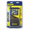 IRWIN 29-Piece High-Speed Cobalt Steel Drill Bit Set, w/Case