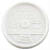 Dart Sip Thru Lids, Fits 6-10oz Cups, White, 1000/Carton