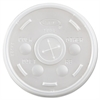 Dart Plastic Cold Cup Lids, Fits 10oz Cups, Translucent, 1000/Carton