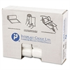High-Density Can Liner, 24 x 24, 10gal, 6mic, Natural, 50/Roll, 20 Roll/Carton