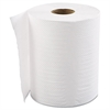 "Hardwound Roll Towels, 1-Ply, White, 8"" x 500ft, 12 Rolls/Carton"
