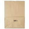 General 1/6 BBL Paper Grocery Bag, 75lb Kraft, Standard 12 x 7 x 17, 400 bags