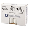 Inteplast Group High-Density Can Liner, 38 x 60, 60gal, 12mic, Clear, 25/Roll, 8 Rolls/Carton