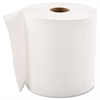 "Hardwound Roll Towels, 1-Ply, White, 8"" x 700ft, 6 Rolls/Carton"
