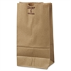 General #6 Paper Grocery Bag, 50lb Kraft, Extra-Heavy-Duty 6 x 3 5/8 x 11 1/16, 500 bags