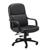 Mayline Big & Tall Executive Chair, Leather