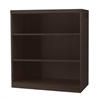 Mayline 3 Shelf Quarter Round (1 fixed shelf), Mocha Tf Laminate