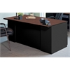 "72""x36"" Desk with two B/B/F Pedestals"