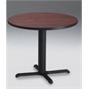 "Mayline 30"" Round Dining Height Table - Black Base"