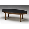 "Midnight Coffee Table, 48""W x 24""D x 16""H, Bourbon Cherry Veneer"