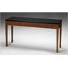 "Midnight Sofa Table, 60""W x 16""D x 30""H, Bourbon Cherry Veneer"