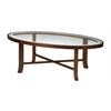 "Illusion Coffee Table, 48""W x 24""D x 16""H, Bourbon Cherry Veneer"