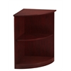 Mayline Bookcase (2 Shelf 1/4 - Round)