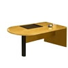 Mayline Peninsula Desk (Return/Bridge Supported)