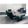 "84""x42"" Rectangular Conference Table w/Premier Leg & Grommets"