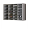 2-Tier Sorter, No Riser - 40 Pockets, Pebble Gray Paint