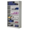 Bulk Storage Cabinet, 5 Adjustable Shelves, Pebble Gray Paint