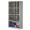 Literature/Forms Cabinet, 72 Pockets, Pebble Gray Paint