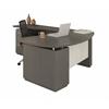 """L Shaped Right Handed 72"""" Desk System with (1) B/B/F Pedestal, 48"""" Left Handed Return Desk with (1) F/F Pedestal"""