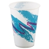 SOLO Cup Company Jazz Waxed Paper Cold Cups, 10oz, Rolled Rim, 2000/Carton