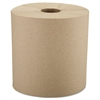"Windsoft Nonperforated Roll Towels, 8"" x 800ft, Brown, 6 Rolls/Carton"