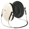 E·A·R Peltor OPTIME 95 Behind-The-Head Earmuffs, 21NRR, Beige/Black