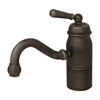Whitehaus Collection 3-3163-L-P Beluga Faucets Pewter