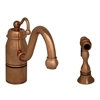 Whitehaus Collection 3-3165-SPR-C-CO Beluga Faucets Polished Copper