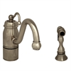Whitehaus Collection 3-3165-SPR-C-PN Beluga Faucets Polished Nickel