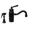 Whitehaus Collection 3-3165-SPR-L-ORB Beluga Faucets Oil Rubbed Bronze