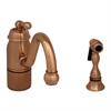 Whitehaus Collection 3-3165-SPR-L-CO Beluga Faucets Polished Copper