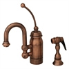Whitehaus Collection 3-3178-ACO Baby Horizon Faucets Antique Copper