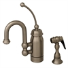 Whitehaus Collection 3-3178-BN Baby Horizon Faucets Brushed Nickel