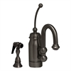 Whitehaus Collection 3-3178-P Baby Horizon Faucets Pewter