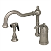 Whitehaus Collection 3-3190-C Legacyhaus Faucets Polished Chrome