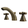 Whitehaus Collection 614.141WS-AB Blairhaus Faucets Antique Brass